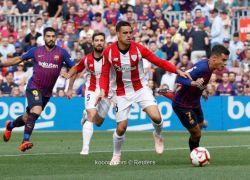 برشلونة يواصل التعثر بتعادل مخيب أمام بيلباو