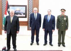 الرئيس عباس يتقبل أوراق اعتماد عدد من السفراء المعتمدين