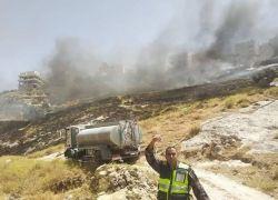 777 حالة تدخل واحتراق أكثر من 3700 شجرة في الضفة الغربية