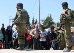 الاحتلال يوزع منشوراً حول إزالة المنع الأمني في أحياء الخليل