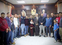 محافظ طولكرم عصام أبو بكر يستقبل رئيس هيئة الأسرى والمحررين الوزير عيسى قراقع