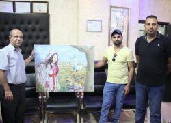 """فلسطيني يفوز بالميدالية الذهبية في """"تجمع فنانون حول العالم"""" بتركيا"""