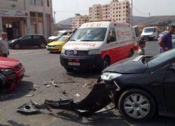 32 حادث سير يومياً بالضفة الغربية