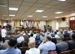 محافظ طولكرم عصام أبو بكر يعلن عن إطلاق حملة طولكرم الخير (3) بتنظيم من لجنة العلاقات العامة بالمؤسسة الأمنية والمدنية