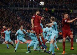 روما يفجر المفاجأة ويلقن برشلونة درسا قاسيا ويقصيه من البطولة