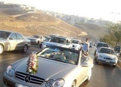إصابة عروس وخمسة مواطنين بحادث سير على مدخل جنين الشرقي
