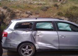3 اصابات بحادث سير على مفرق بيت امر