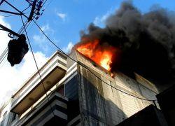 وفاة طفلتين بحريق شقة في عمان