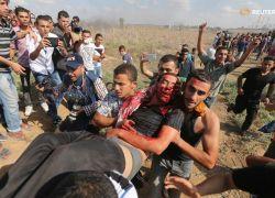 شهيدان واصابات في تجدد المواجهات بغزة