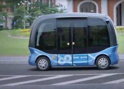 الصين تطلق حافلات صغيرة ذاتية القيادة