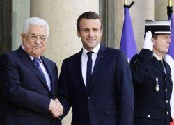 الرئيس عقب لقائه نظيره الفرنسي: لم نرفض المفاوضات مرة واحدة واتحدى ولكن الجانب الاسرائيلي هو من أفشل ذلك