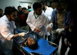 إصابة خطيرة إثر قصف مواطنين من طائرة استطلاع على خان يونس