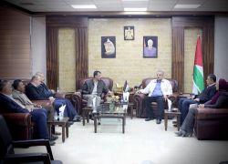 المحافظ أبو بكر يستقبل مدير مديرية السياحة والآثار الجديد بطولكرم