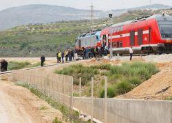 """""""اسرائيل """" تبدأ الترويج لسكة حديد حيفا الى الخليج العربي"""