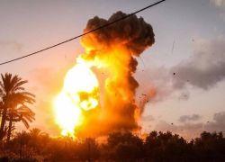 تحرك عسكري ضد غزة .. قصف مستمر وتهديد بالتصعيد