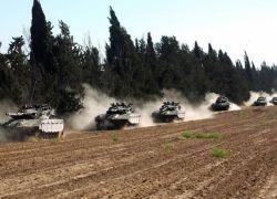 اسرائيل تقرر حشد قوات كبيرة على حدود غزة