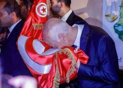 """الرئيس التونسي الجديد : """"سنعمل من أجل القضية الفلسطينية """""""