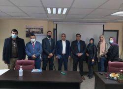 الدكتور محمد أبو عمر يحاضر بورشة عمل استهدفت موظفي قطـاع العـدالة في فلسطين