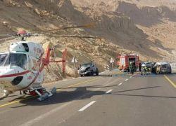 إصابات خطيرة لعائلة من طولكرم إثر حادث سير قرب البحر الميت