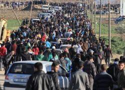 اصابات بينهم صحفيون في قمع الاحتلال لمسيرات العودة بغزة