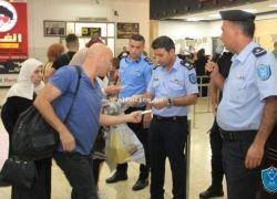 الشرطة: 36 ألف مسافر تنقلوا عبر معبر الكرامة وتوقيف 128 مطلوبا الأسبوع الماضي