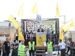 حركة فتح في مخيم طولكرم تنظم مهرجان العهد والوفاء للأسرى