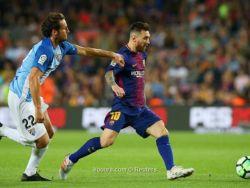برشلونة يحقق المطلوب ويهزم مالاجا في مباراة باهتة