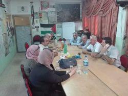 وفد من مديرية زراعة طولكرم يزور مقر جمعية المزارعين في المحافظة