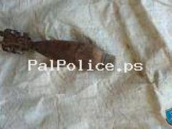 الشرطة تتلف جسم مشبوه في طولكرم