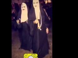 """شاهد- حفل """"هالوين"""" في السعودية"""