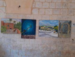 """طولكرم: افتتاح معرض الفن التشكيلي """"القدس في العيون"""" تواصل 6 .. فيديو"""