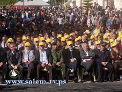 خلال مهرجان الانطلاقة بطولكرم..الآلاف يهتفون لفتح الثورة ويجددون عهد الشهداء