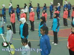 إفتتاح بطولة كرة الطائرة لمنتخبات مدارس محافظات الشمال