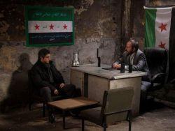 مراد علم دار مع الجيش الحر السوري في وادي الذئاب 7