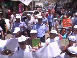 مسيرة كشفية لمناسبة اليوم العالمي لمكافحة المخدرات في طولكرم .. شاهد الفيديو