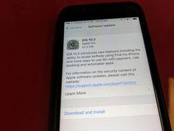آبل تطرح النسخة النهائية من نظامها iOS 10.3