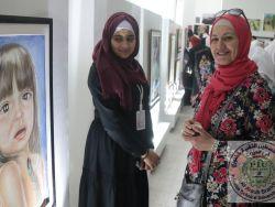 جامعة خضوري فرع العروب تفتتح معرض جرافوس الابداعي الثاني لتكنولوجيا الفنون التطبيقية