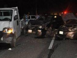 مصرع 18 شخصا بحادث تصادم بين عدد من السيارات في القاهرة