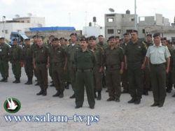 التوجيه السياسي والوطني في طولكرم ينظم محاضرة لقوات الأمن
