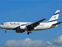 هبوط طائرة ركاب اسرائيلية اضطراريا في اليونان