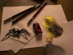 صدق أو لا تصدق : فنان يرسم رسومات ثلاثية الأبعاد بالقلم و الورق فقط ـ ...
