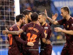 رسميا.. برشلونة يحصد لقب الليجا للمرة 25