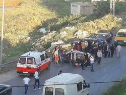 5 إصابات في حادث سير على الطريق بين رام الله ونابلس