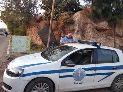 حدث بطولكرم : شرطي يدفع لمواطن قيمة مخالفة كتبها له!
