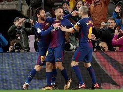 برشلونة يعزز صدارته بفوز بثلاثية على ليفانتي