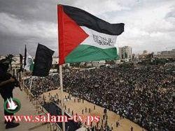 الجهاد الاسلامي يتظاهرون في خانيونس دفاعا عن الحرم الابراهيمي