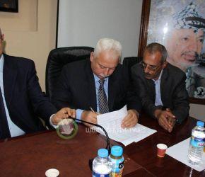لجنة بلدية طولكرم الجديدة تتسلم مهام أعمالها