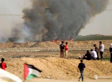 اندلاع 17 حريقاً في 'غلاف غزة'