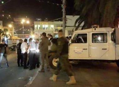 إصابة 2 من أفراد الأمن أثناء تأدية واجبهم واعتقال 4 من متسببي أعمال الشغب بنابس صور