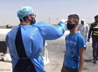الأردن: تسجيل 40 وفاة و3443 إصابة جديدة
